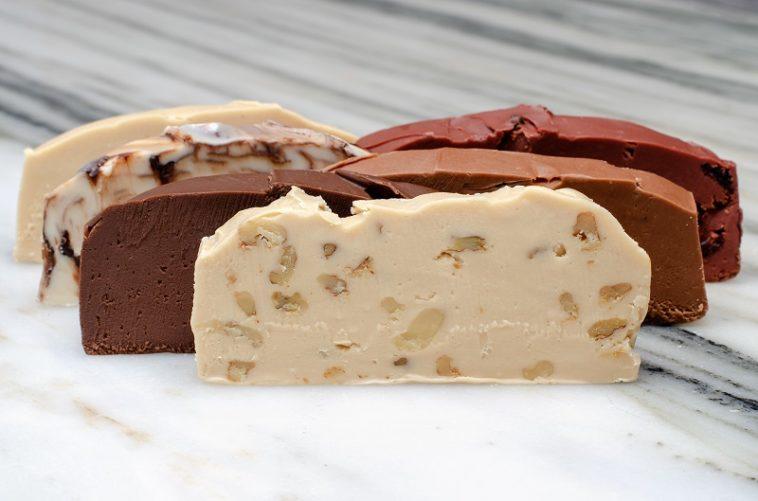 Maple Walnut, Chocolate, Chocolate Peanut butter, Chocolate Swirl, Chocolate Cherry, Vanilla