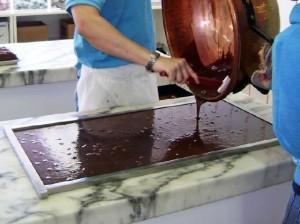 Aaron Murdick pouring